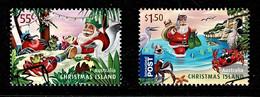 Christmas Island 2011 Christmas Set Of 2 Used - Christmaseiland