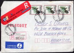 Polska - 1996 - Lettre - Par Avion - Envoye En Argentina - A1RR2 - Covers & Documents