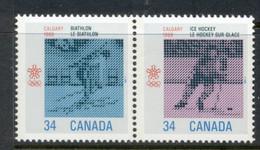 Canada 1986 Winter Olympics Calgary MUH - Unused Stamps