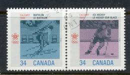 Canada 1986 Winter Olympics Calgary CTO - Used Stamps