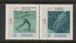 Canada 1987 Winter Olympics Calgary MUH - Unused Stamps