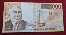 Superbe Billet Neuf De 1000 F Belges émis En 1997 Et Très Difficile à Trouver En Neuf - 1000 Francs