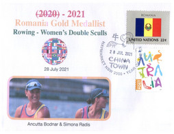 (V V 23 A) 2020 Tokyo Summer Olympic Games - Romania Gold Medal - 28-7-2021 - Rowing Women's Double Sculls - Zomer 2020: Tokio