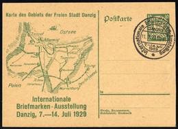 1929, Danzig, P 46, Brief - Dantzig