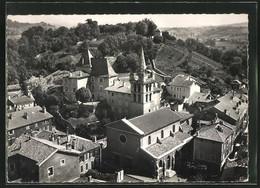 CPA St-Marcellin, L`Eglise, Vue Aérienne - Saint-Marcellin