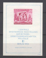 DDR , Block 10 Postfrisch - Blokken