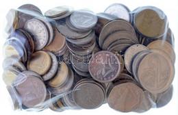 ~530g Magyar és Külföldi (főleg Csehszlovák érmék) Vegyes Fémpénz Tétel, Közte Nagy-Britannia 1983-2002. 1Ł (5db) + NSZK - Non Classificati