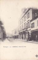 "BERG19- ACHAT  IMMEDIAT RIBERAC EN DORDOGNE  L""HOTEL DE VILLE    CPA PRECURSEUR - Riberac"