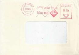 "Freistempel  ""Reise Ohne Sorge, Fahre Mit Aral, Essen""            1959 - Non Classificati"