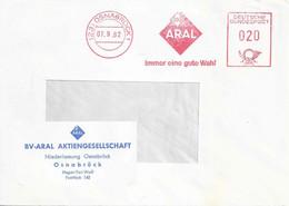 "Freistempel  ""Aral - Immer Eine Gute Wahl, Osnabrück""            1962 - Non Classificati"