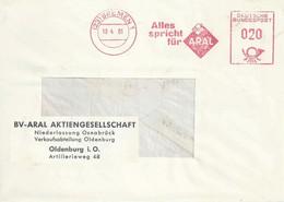 "Freistempel  ""Alles Spricht Für Aral, Bremen""            1961 - Non Classificati"