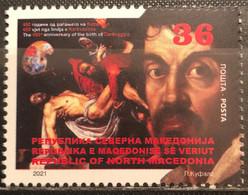 Macedonia North, 2021, The 450th Anniversary Of The Birth Of Caravaggio, 1571-1610 (MNH) - Macedonia