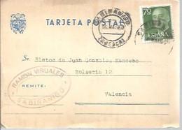 TARJETA POSTAL  1960  SABIÑANIGO - 1951-60 Cartas
