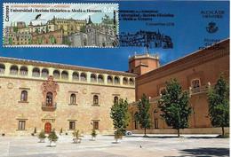 SPAIN. MAXICARD FIRST DAY. PALACE OF THE ARCHBISHOP. ALCALA DE HENARES 2018. - Cartes Maximum