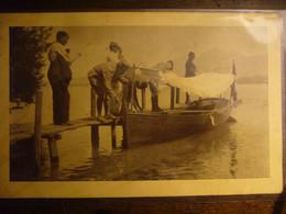 Prisonniers De Guerre En Suisse  ( Lac De Thoune )   1918 - Other
