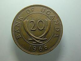 Uganda 20 Cents 1966 - Ouganda