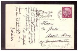 Dt- Reich (022099) AK Helgoland, Gelaufen In Die Schweiz Mit Werbestempel Tag Der SA Gruppe Nordsee, Am 26.5.1936 - Brieven En Documenten