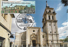 SPAIN. MAXICARD. ALCALA DE HENARES CATHEDRAL. 2018 - Cartes Maximum