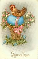 Joyeuses Paques - Poule Oeuf  Z 209 - Pasqua