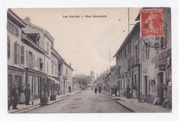 CP667 - LES ABRETS - RUE GAMBETTA - Les Abrets