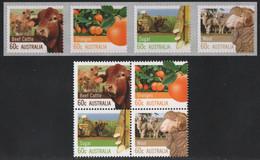 Australien 2012 - Mi-Nr. 3757-3760 & 3761-3764 ** - MNH - Landwirtschaft - Ongebruikt