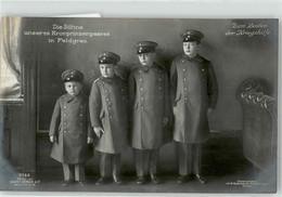 52625702 - Soehne Des Kronprinzenpaares In Feldgrau, Kinder In Uniform, Kriegshilfe - Guerra 1914-18
