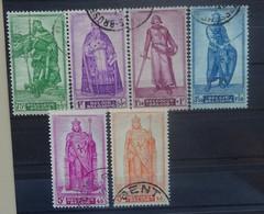 BELGIE  1946    Nr. 737 - 741 + 742      Gestempeld   CW 24,50 - Used Stamps