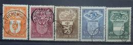 BELGIE  1947    Nr. 756 - 760     Gestempeld   CW 21,00 - Used Stamps