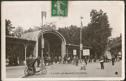 CP 03 Vichy - Les Galeries Couvertes 1908 - Vichy