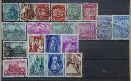 BELGIE  1948      Nr. 761 - 766 / 767 - 772 / 773 - 776 / 777 - 780      Gestempeld   CW 31,50 - Used Stamps