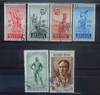 BELGIE  1948      Nr. 781 - 784 / 785 - 786      Gestempeld   CW 47,00 - Used Stamps