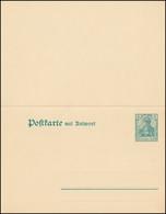 P 81 Germania 5/5 Pf. Mit Wz.3, Ohne Teilstrich, ** Wie Verausgabt - Stamped Stationery