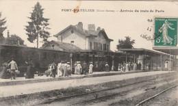 Port D'Atelier (Haute-Saône) - Arrivée Du Train De Paris - Non Classés