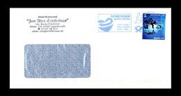 Bund / Germany: Blauer Stempel 'Gegen Corona, 2021' / Blue Cancel 'Covid Disease', BZ 21 Ma - Krankheiten