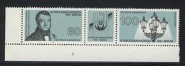 1537-1538 Weltgaskongress, Eckrand-Zusammendruck FN3 ** - Non Classés
