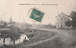 Champagney (Hte-Saône) - Route De Ronchamp - Non Classés