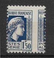 Algérie N°214 - Variété Piquage à Cheval - Neuf ** Sans Charnière - TB - Nuovi