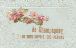 Hte-Saône / De Champagney Je Vous Envoie Ces Fleurs - Non Classés