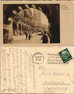 Ansichtskarte Bremen Marktplatz Markt Rathaus Tram Strasse Belebt 1933 - Bremen