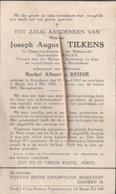 Rijkswachter, Joseph Tilkens, Attenhove, Boom, Oudstrijder, 1914-18 - Images Religieuses