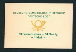 DDR Sonder Markenheftchen Michel Nummer SMHD1a Postfrisch Mit Mi.Nr. 1750 - Markenheftchen