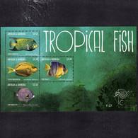 Antigua And Barbuda   2011 Fauna  Tropical Fish  ,fishes - Antigua Und Barbuda (1981-...)