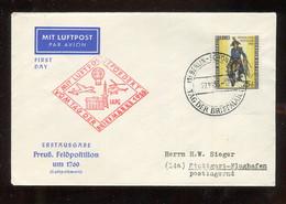 """Berlin - 1955 - Mi. 131 """"Preuss. Postillion"""" Lupo-FDC (2745) - FDC: Sobres"""