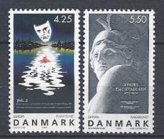Danemark 2003 N°1344/1345  Neufs **Europa Affiches - Ungebraucht