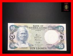SIERRA LEONE 10 Leones  4.8.1984   P. 8  *rare*   In Any Conditions   UNC - Sierra Leone