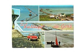 Cpm - 85 - LE PASSAGE DU GOIS - Voiture FIAT Rouge - SIMCA - 403 - 1973 - Publicité FRIGECREME Femme Caméra - Sonstige Gemeinden