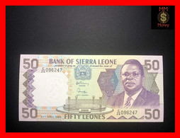 SIERRA LEONE  50 Leones  27.4.1989  P. 17 B   UNC - Sierra Leone