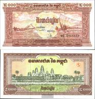 Cambodia Pick-number: 45a Uncirculated 1995 2.000 Riels - Cambodia