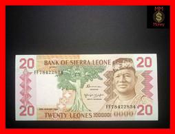 SIERRA LEONE 20 Leones  24.8.1984   P. 14   AU \ UNC - Sierra Leone