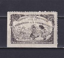 FRANCE, CINDERELLA, Rouen Association Rouennaise Préservation Tuberculose, MH - Cinderellas